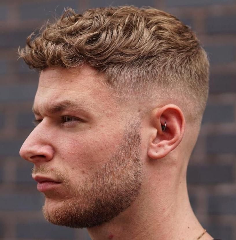 45 Hottest Men S Curly Hairstyles That Attract Women Barba Cabello