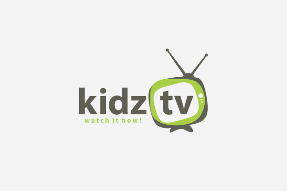 Kidz TV Logo by A.R STUDIO on Creative Market