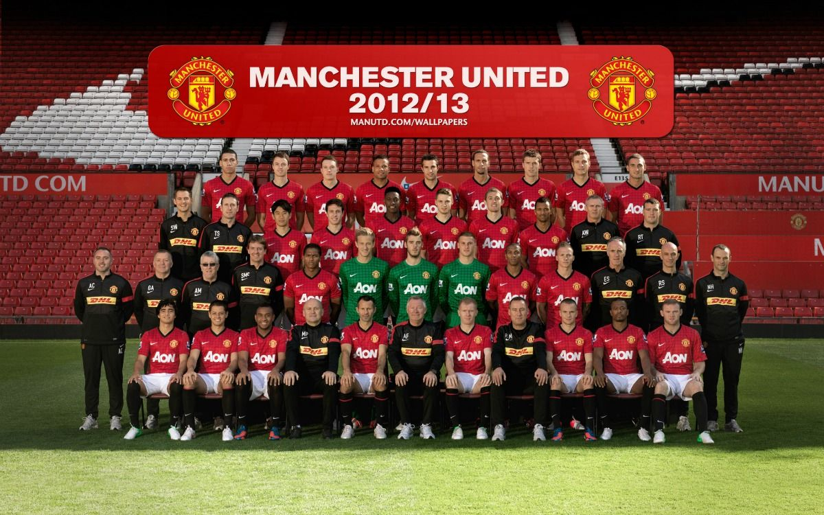 Manchester United Squad 2012 2013 Manchester United Team Manchester United Official Manchester United Website