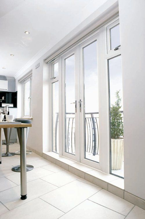 REHAU Offer A Range Of Energy Efficient Double Glazed Doors Using The Latest UPVC Technology