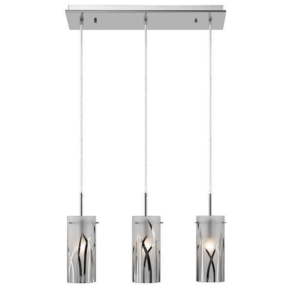 Kichler Lighting Contemporary 3-light Chrome Mini Pendant Cluster Chandelier - Overstock™ Shopping - Great Deals on Kichler Lighting Chandeliers & Pendants