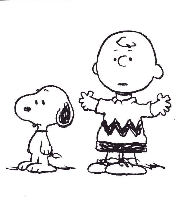 charlie brown coloring pages 9jpg Charlie Brown Peanuts