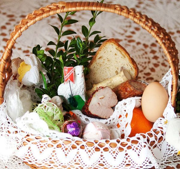 Was your easter basket blessed this year easter baskets easter polish easter basket negle Gallery