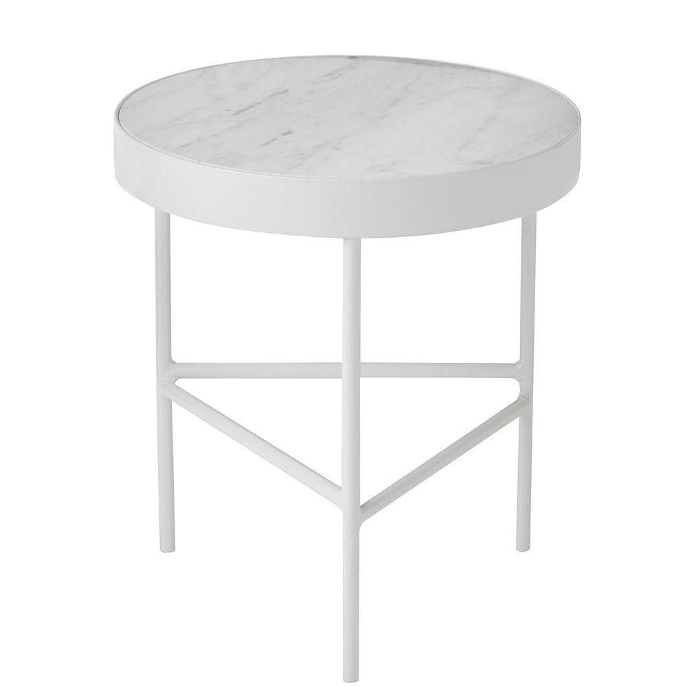 Marble Pöytä M, Valkoinen - Ferm Living - Ferm Living - RoyalDesign.fi