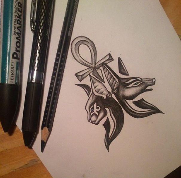 Egyptian Symbol Tattoos Egyptian Symbol Tattoos Pinterest