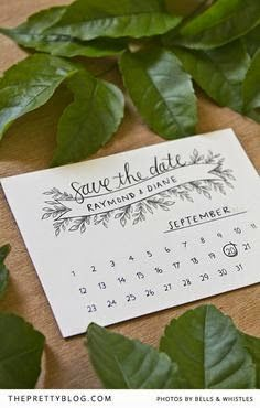 Free Printable Save The Date Templates | 10 Simple Inexpensive Rustic Wedding Diys Www Feathersandflorals