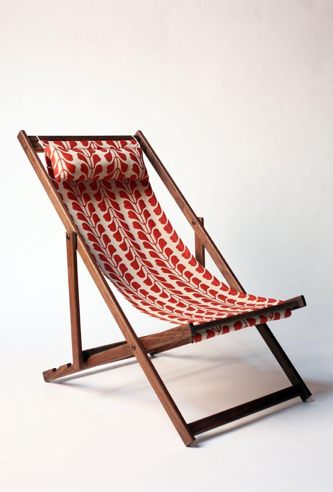 Porthmeor Garden Deck Chair Gallant Jones Productfind Interiordesign Net In 2020 Beach Chairs Diy Deck Chairs Folding Beach Chair
