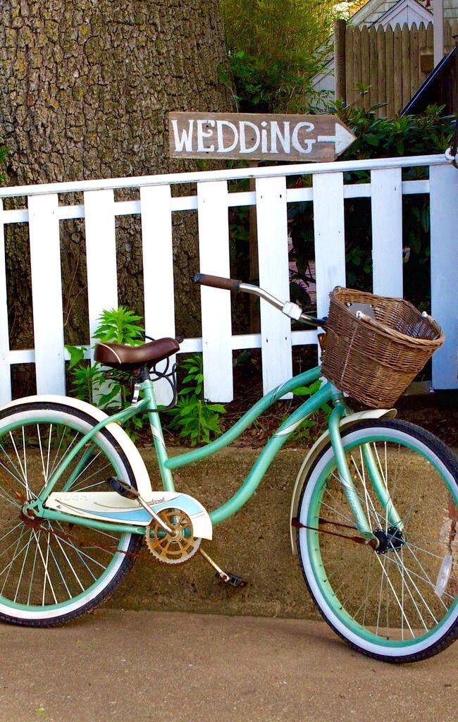 Wedding Bicycle - Edgartown, Martha's Vineyard, Massachusetts