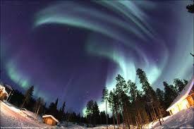 aurora boreal finlandia