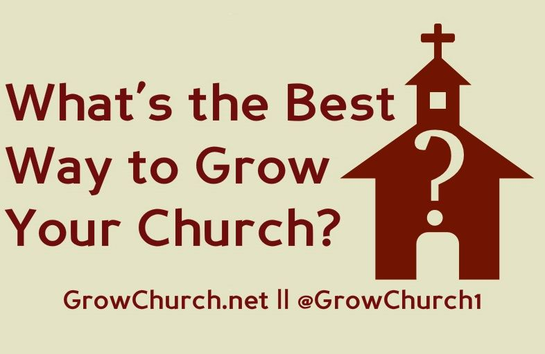What's the Best Way to Grow Your Church Membership? Let's Ask the  Unchurched... | Church outreach, Church ministry, Evangelism