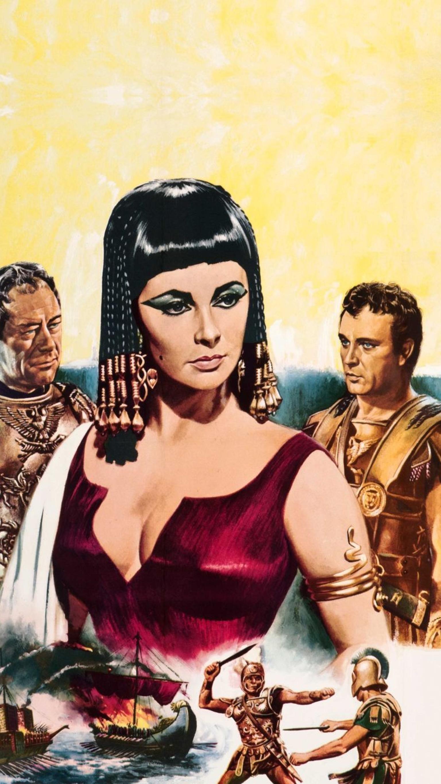Cleopatra 1963 Phone Wallpaper Moviemania Cleopatra Wallpaper Phone Wallpaper