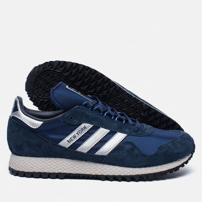 Мужские кроссовки adidas Originals New York Navy/Silver/Black BB1188