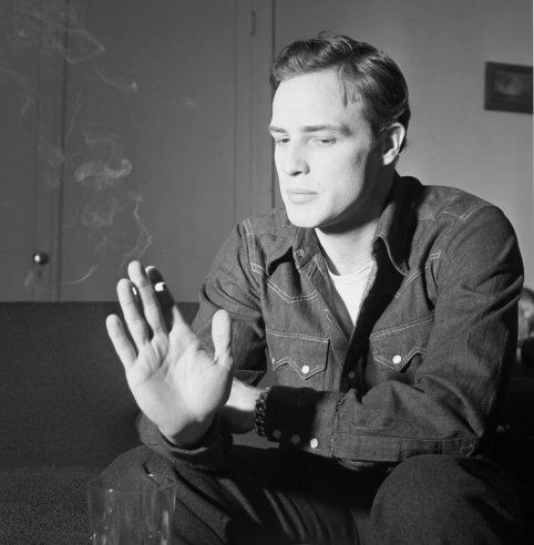At the time of the photo session, Brando had been nominated twice for the Academy Award for Best Actor, and was clearly poised for more greatness. In the next two years alone he'd complete the impressive trifecta of Julius Caesar, The Wild One, and On the Waterfront for which he did finally win an Oscar).