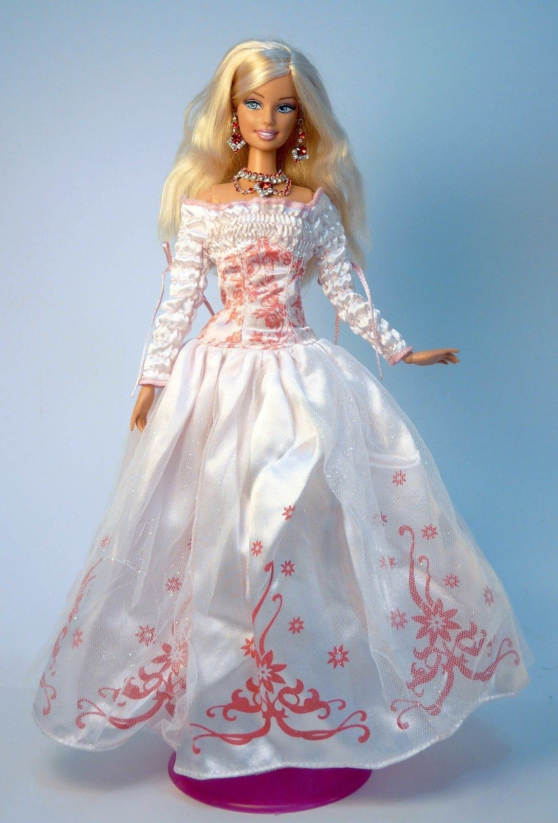 Barbie Doll Party Dress Wedding Gown Casual Wears Clothes Outfit ...