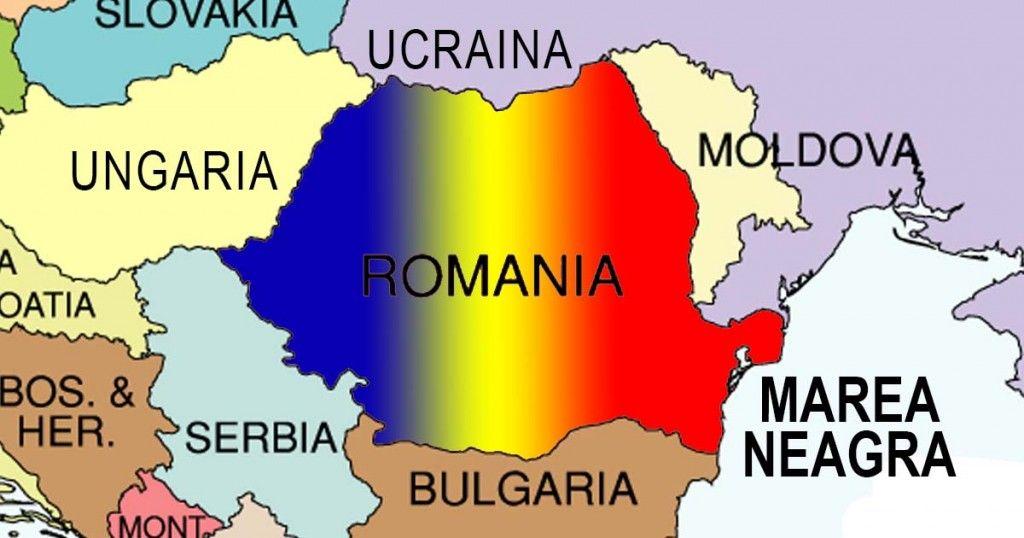 Care Sunt Vecinii Romaniei Educație Hartă