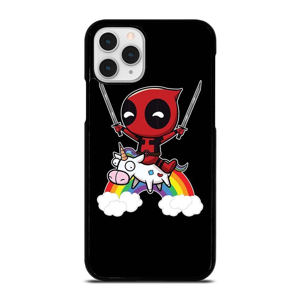 Deadpool unicorn cute iphone 11 pro case cover iphone