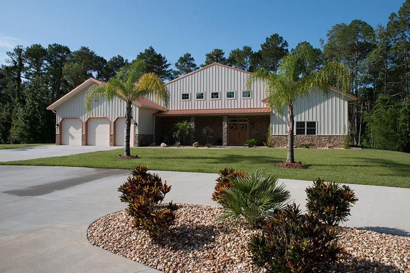 Video Tour Fantastic Metal Building Mansion Amp Pictures Homes