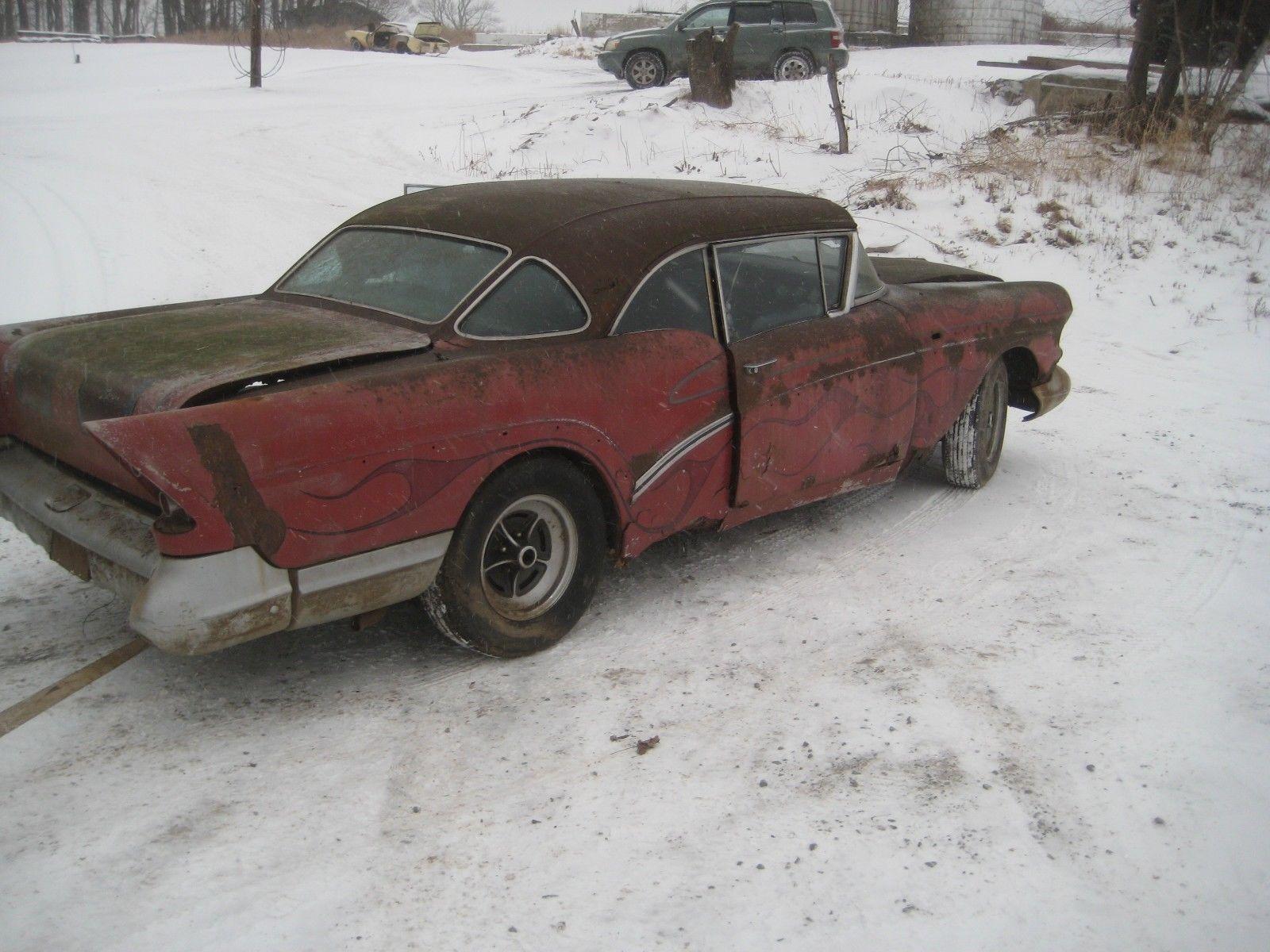eBay: 1957 Buick Century KING ROD PROJECT 1957 BUICK CENTURY KING ...