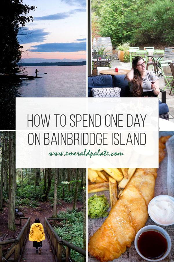 Bainbridge Island Off The Beaten Path In 2020 Seattle Travel Bainbridge Island Pacific Northwest Travel