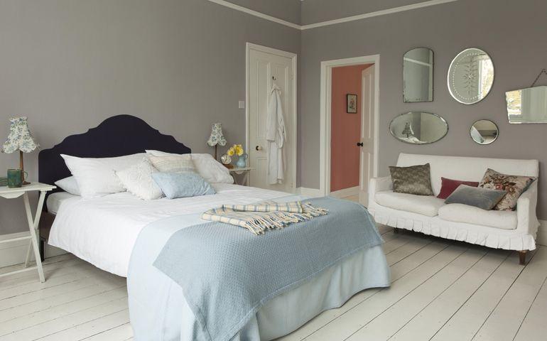 Chambre coucher id es peinture couleurs sico - Chambres mansardees ...