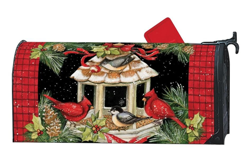 Christmas Dinner Magnetic Mailbox Cover Mailbox Covers Magnetic Mailbox Covers Decorative Cover