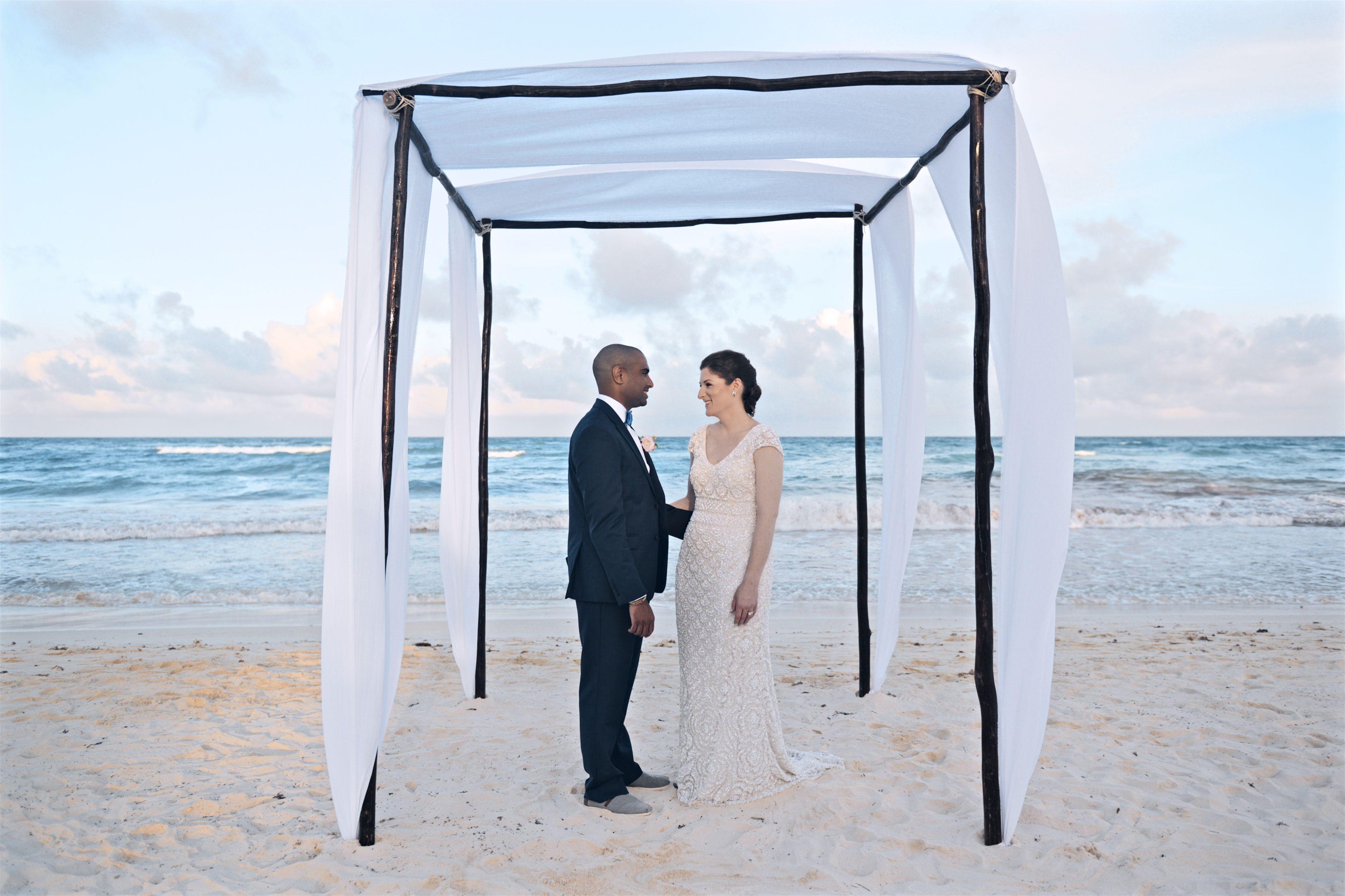 Wedding Canopy Realized By Destination Weddings Tulum