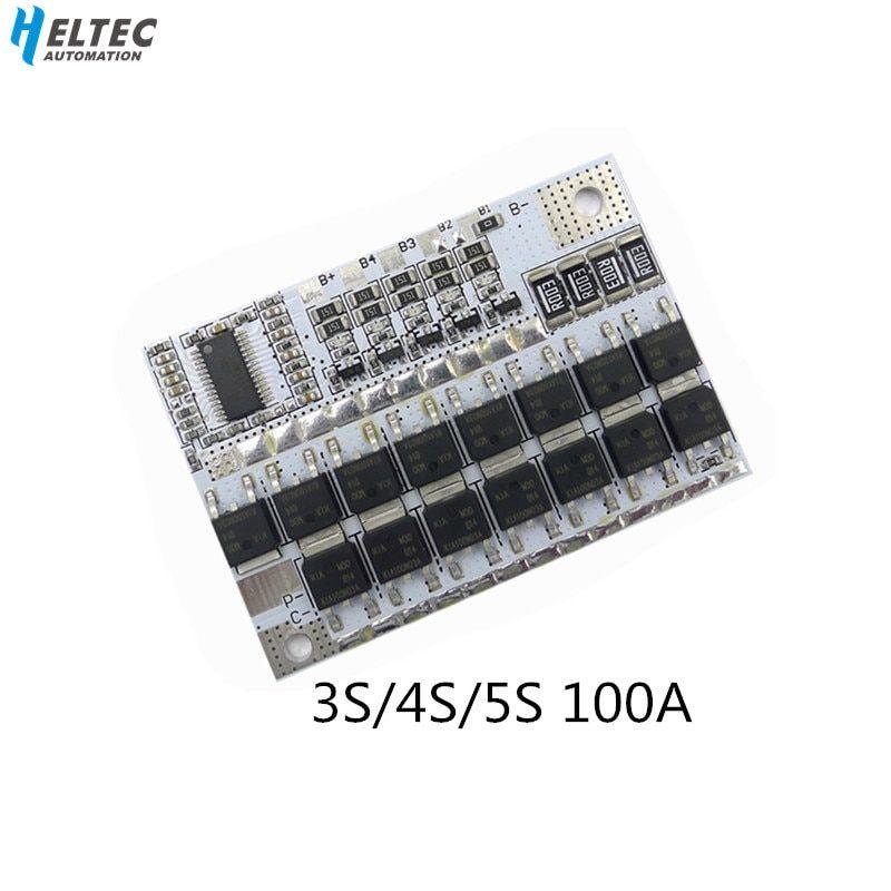 3 S 12.6 V Li-Ion Lithium Batterie 18650 BMS Protection Carte De Circuit Imprimé Chargeur balance board