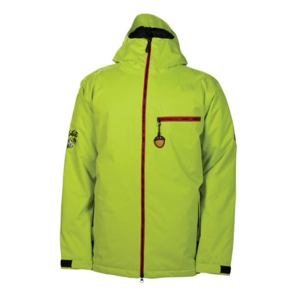 686 SNAGGLEDAD MENS INSULATED SNOWBOARD JACKET IN ACIDSnaggledad Is The Mens Version Of Snaggletooth Kids
