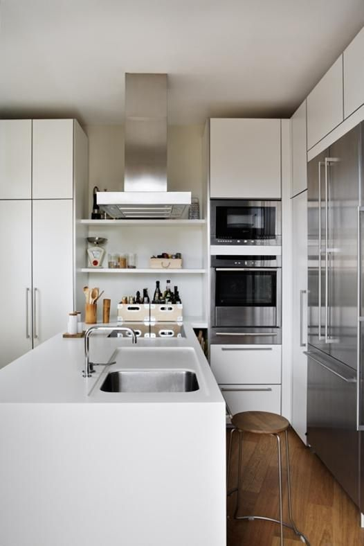 Cucine A Vista Idee.Cucina A Vista 35 Idee E Soluzioni Per Arredare Nel 2019