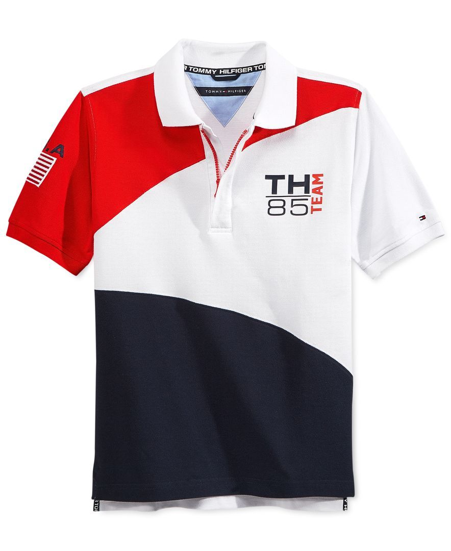 c421311b Tommy Hilfiger Boys' Usa Polo | Products in 2019 | Polo, Polo t ...