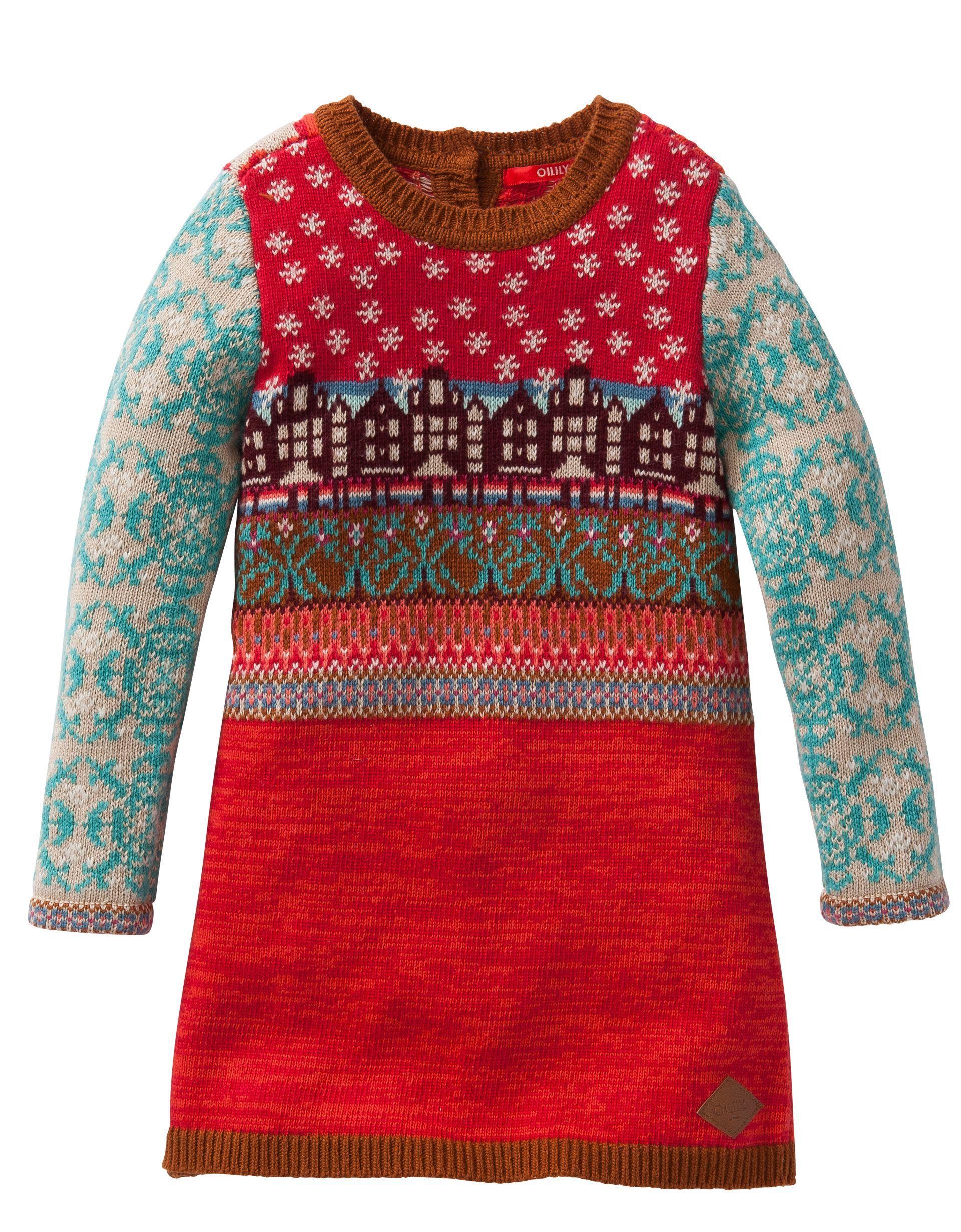 OILILY Children s Wear Fall Winter 2015 Dress Kasja