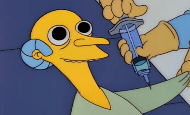 WTF!? Tomó LSD durante dos días, se la pasó viendo Los Simpson y aquí sus conclusiones