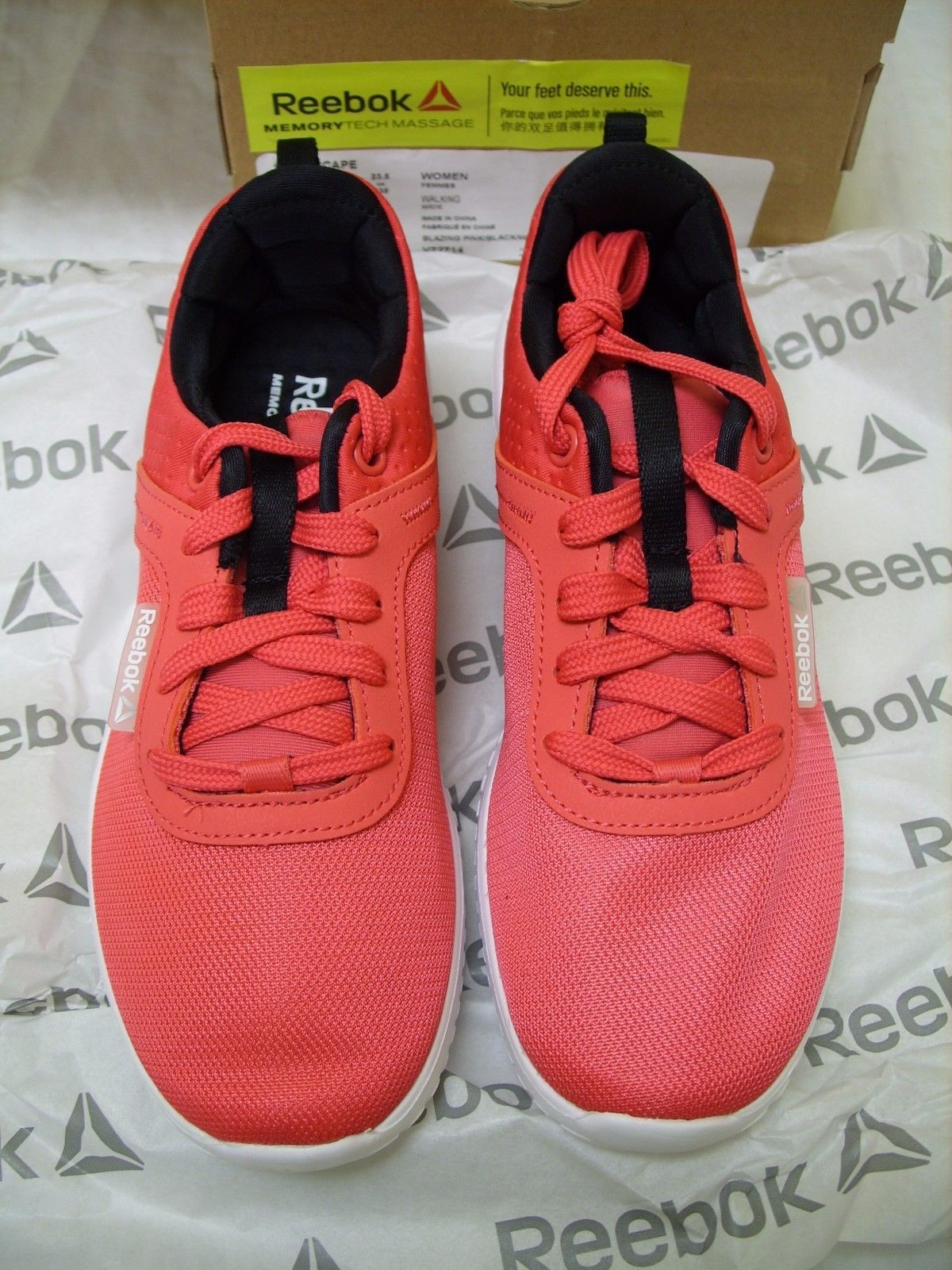13274dbef0 Details about REEBOK STYLESCAPE - MemoryTech Massage Ladies Walking ...
