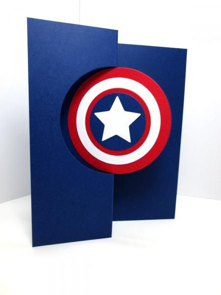 Captain America Card By Eabbott387 Cards And Paper Crafts At