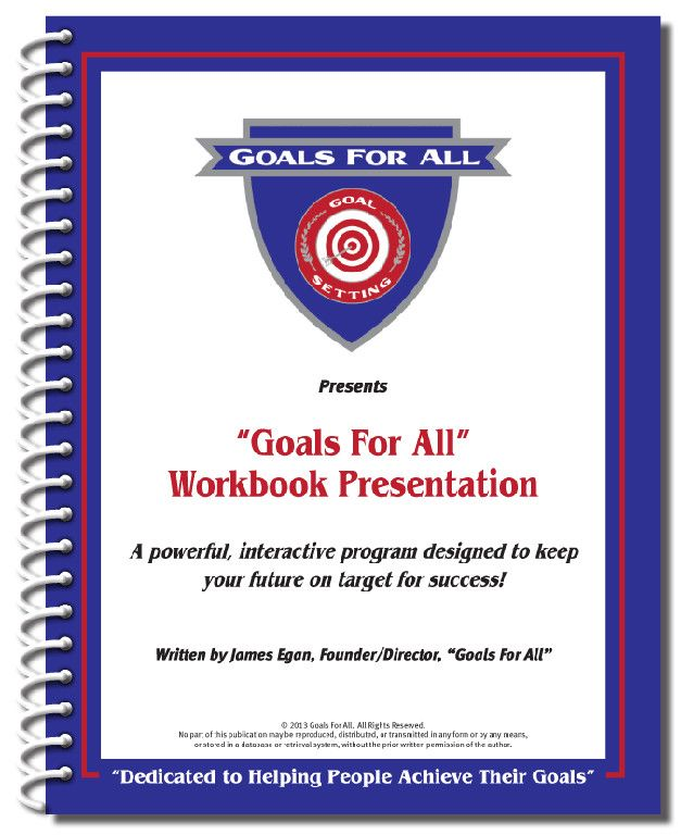 Pin By Goals For All On Goals Examples Worksheets