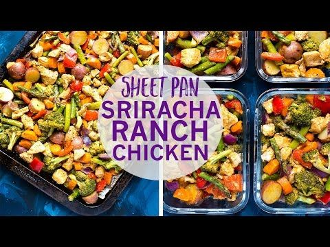This Sheet Pan Sriracha Ranch Chicken Is A Super Easy And Healthy 30