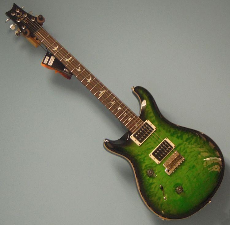 rare one off left hand prs custom 24 lefty 10 top electric guitar lefthand new lansing 39 s world. Black Bedroom Furniture Sets. Home Design Ideas