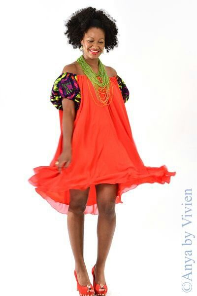 Shop Www.anyabyvivien.com  African print inspired designs