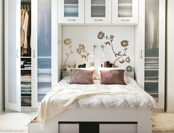 dormitorio sin placard ideas Decorar habitacion pequeña