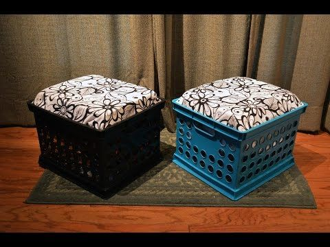 Prime How To Diy Crate Seats And Lap Desks Youtube Crafts Inzonedesignstudio Interior Chair Design Inzonedesignstudiocom