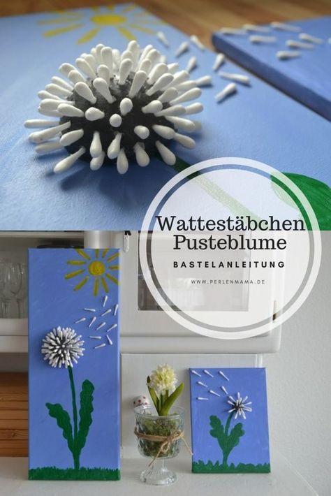 Photo of Basteltipp: Pusteblume aus Wattestäbchen – Perlenmama