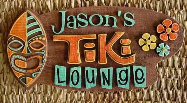 New Sign In The Tiki Bar Pinterest Bars And Backyard