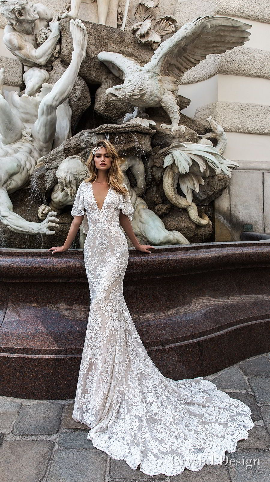 "Photo of Crystal Design 2018 Wedding Dresses — ""Royal Garden"" & Haute Couture Bridal Collections 