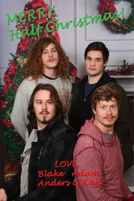 Happy Half Christmas from the Workaholics | f u n n y | Pinterest