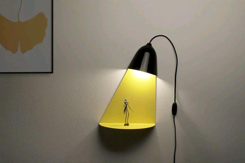 Light shelf una l mpara que destaca la iluminaci n como una estanter a en 2019 dise o - Lampara estanteria ...