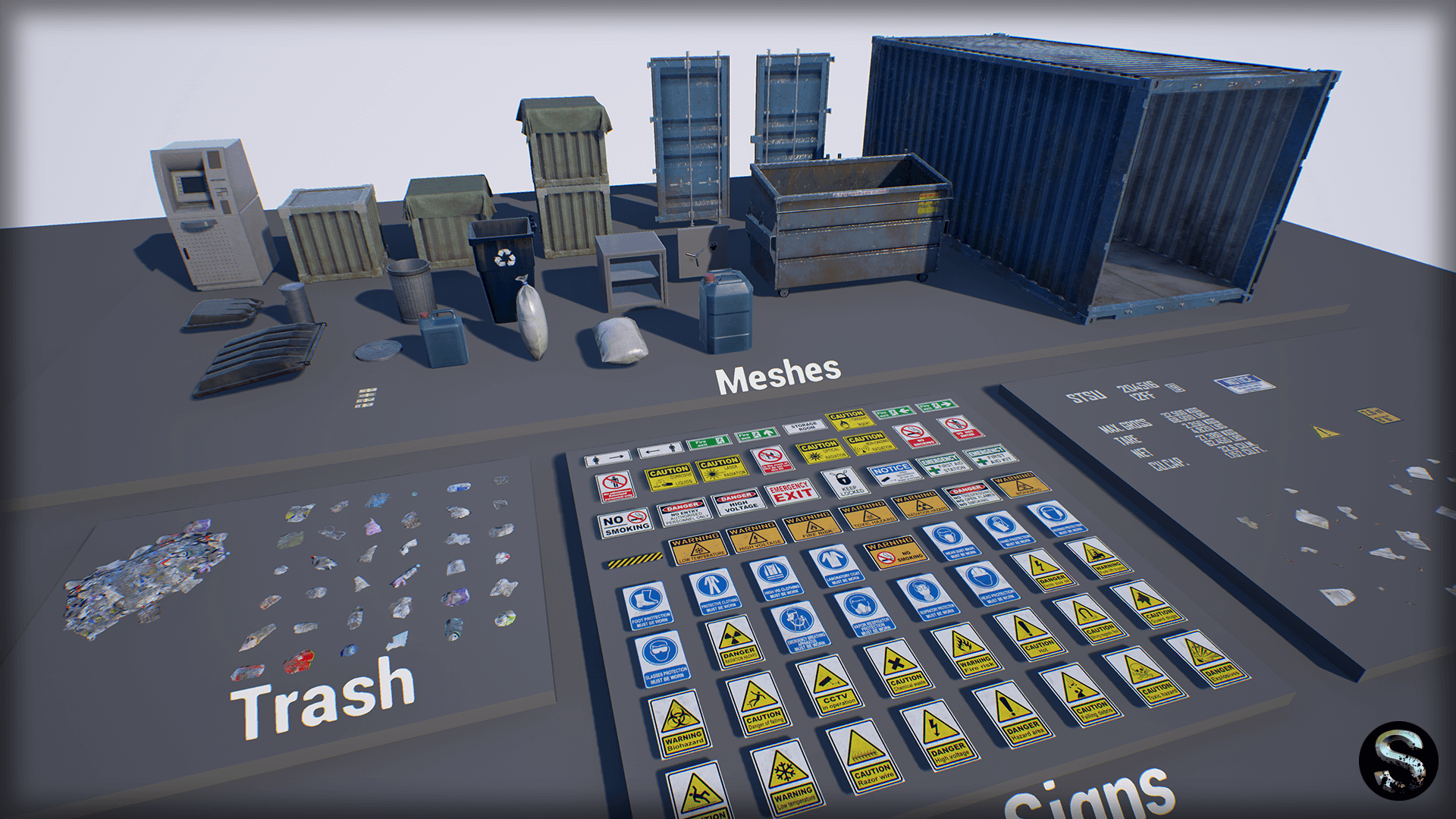 Industry Props Pack 4 by SilverTm in Props - UE4 Marketplace   UE4