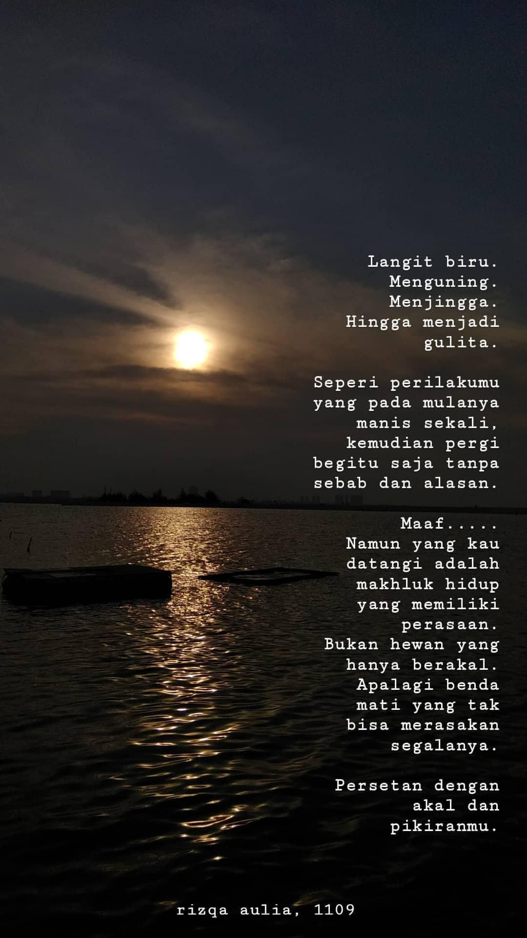 Quotes Tentang Laut Dan Langit