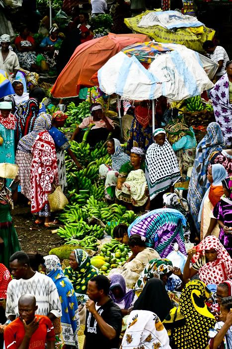 Volo Volo Market in Moroni, Comoros