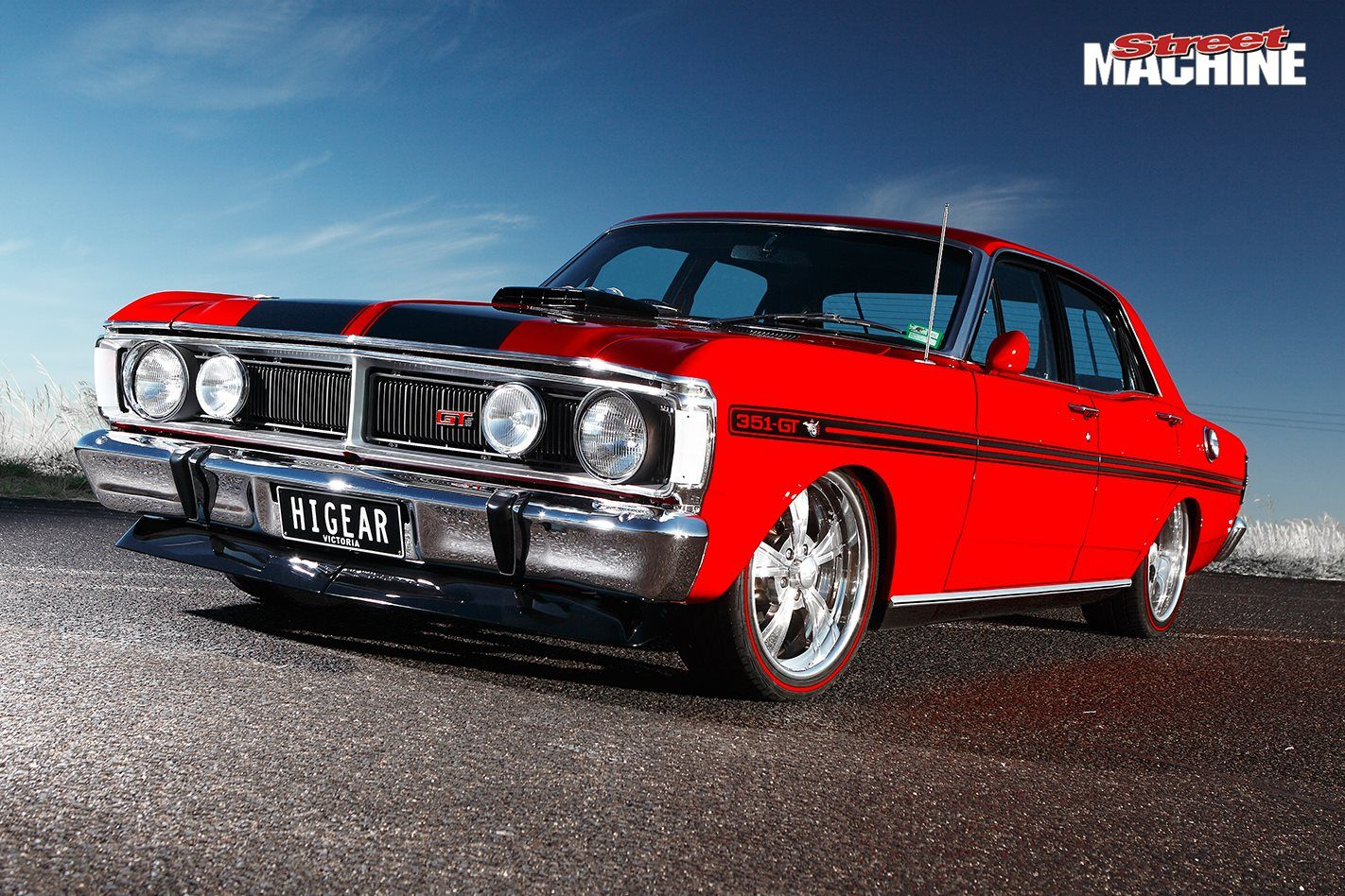 Stunning 1971 Ford Xy Falcon Gt Replica Australian Cars Classic Cars Muscle Ford Gt