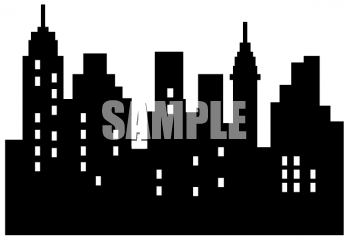 City Skyline Royalty Free Clipart Image Free Clipart Images City Skyline Skyline